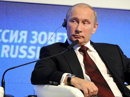 Владимир Путин: выход из кризиса будет продолжительным, затяжным, но это все-таки подъем. Фото: РИА Новости