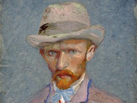 Автопортрет Ван Гога, написанный за три года до смерти художника. Фото: AP
