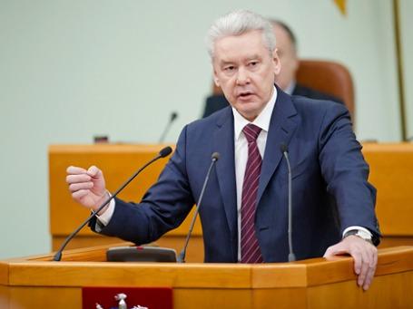 Мэр Москвы Сергей Собянин отчитался перед депутатами Мосгордумы. Фото: РИА Новости