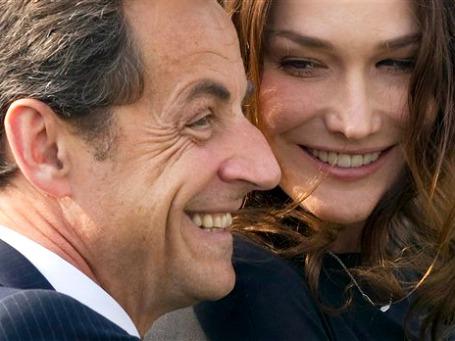 У президентской четы Саркози родилась дочь. Фото: AP