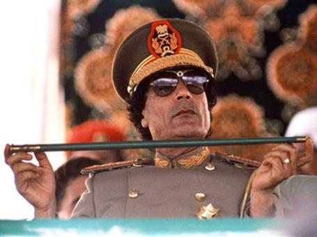 Стиль руководства Каддафи принимал все более специфические формы. Фото: AP