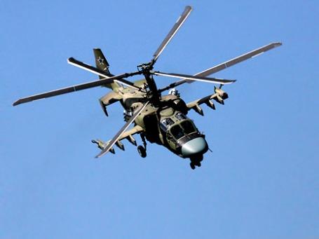 Вертолет Ка-52 «Аллигатор». Фото: РИА Новости