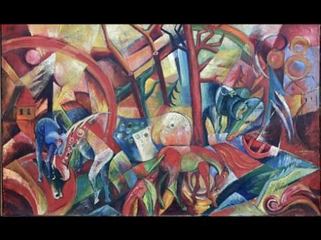 «Красная картина с лошадьми», приписываемая кисти Кампендонка, в 2006 году ушла за рекордную для этого экспрессиониста сумму. Оказалось — подделка.