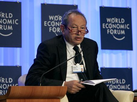 Миллиардер Нагиб Савирис, основатель Orascom Telecom Holding, самый известный бизнесмен Египта. Фото: World Economic Forum/flickr.com