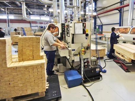 С января все грузы Ikea будут перевозить на картонных палетах. Фото: ИТАР-ТАСС