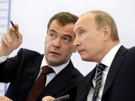 Иностранцы знают, что между Кремлем и Белым домом разногласий нет, но главная роль в принятии экономического курса принадлежит Владимиру Путину. Фото: РИА Новости