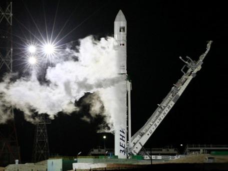 Автоматическая межпланетная станция «Фобос-Грунт» стартовала с Байконура в ночь на среду. Фото: РИА Новости