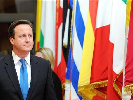 По мнению премьера Великобритании Дэвида Кэмерона, кризис евро дает ЕС возможность переосмыслить свои цели и правила и начать переформатирование ЕС.  Фото: AP
