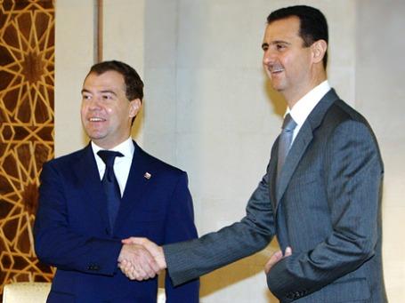 Президенты России и Сирии. Май 2010 г. Фото: РИА Новости