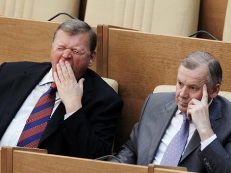 Бюджет-2012 депутаты надеются принять на будущей неделе. Фото: РИА Новости