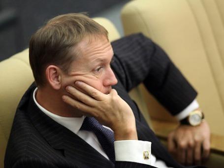 Депутат Госдумы Андрей Луговой не удивлен, что его признали потерпевшим. Фото: РИА Новости