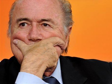 В июне этого года Зепп Блаттер был успешно переизбран на четвертый срок в должности президента ФИФА, Фото: AP