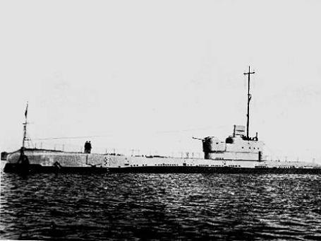 С британской подлодки «Персей», потопленной во время войны, спасся только один моряк. Фото: AP