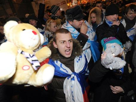 Арестовать могут всех, но к прокремлевским движениям задержания не имеют отношения. Фото: РИА Новости