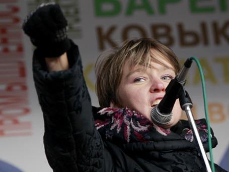 Евгения Чирикова чувствует себя оскорбленной. Таможня все отрицает. Фото: РИА Новости