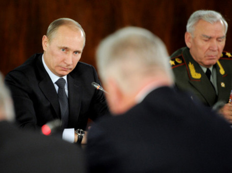 Wall Street Journal: «Путин замыкается в узком кругу советчиков». Фото: РИА Новости