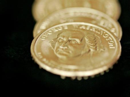 Американцы разлюбили монеты в 1 доллар: 40% их возвращается правительству. Фото: AP