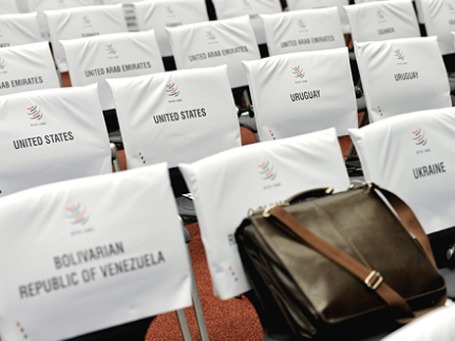 Сегодня в Женеве Россию приняли в ВТО. Пока на бумаге. Фото: ИТАР-ТАСС
