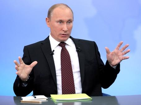 Премьер Владимир Путин уверен, что каждый второй в руководстве энергокомпаний связан с коррупционными схемами. Фото: РИА Новости
