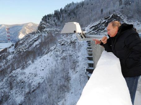 Премьер-министр России Владимир Путин. Фото: РИА Новости