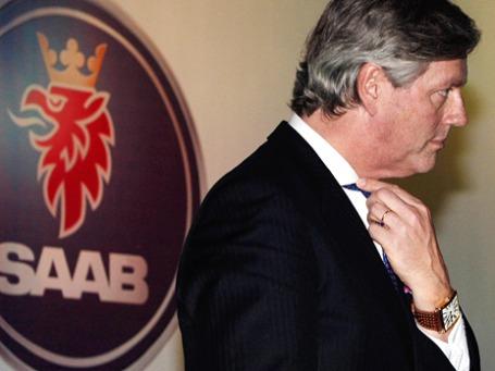 Председатель совета директоров Saab Виктор Мюллер. Фото: AP