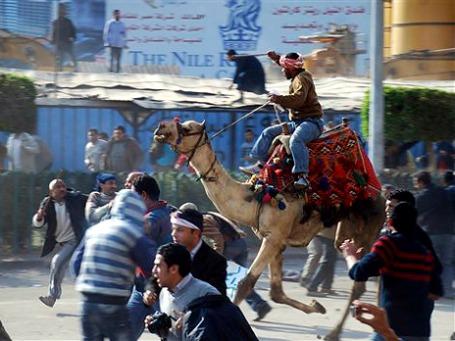 Площадь Тахрир в Каире — один из символов «арабской весны». Фото: AP