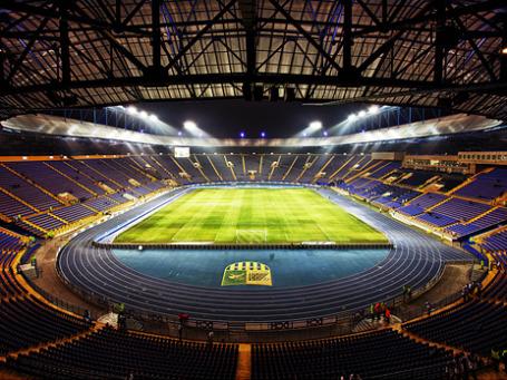 Стадион «Металлист» в Харькове, где пройдут матчи Евро-2012 по футболу. Фото: Aleksandr Osipov/flickr.com