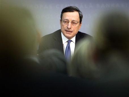 Глава Европейского центрального банка Марио Драги. Фото: AP