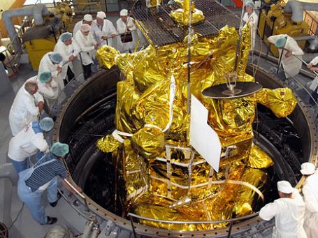 Межпланетная станция «Фобос-Грунт». Фото: ИТАР-ТАСС