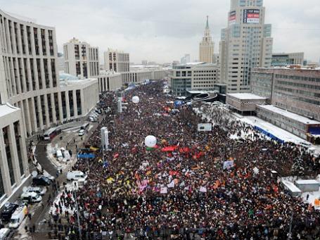 Митинг на проспекте Сахарова. Фото: РИА Новости