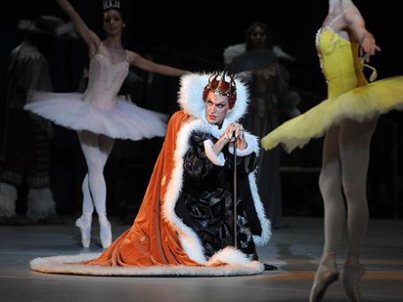 Николай Цискаридзе в сцене из балета «Спящая красавица». Фото: ИТАР-ТАСС