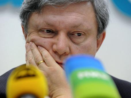 Григорий Явлинский может не попасть в бюллетень. Фото: РИА Новости