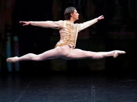 В 19 лет Сергей Полунин стал премьером Королевского балета. Фото: РИА Новости
