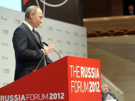 Владимир Путин : «В России появится уполномоченный по защите прав всех предпринимателей, а не только иностранных инвесторов». Фото: РИА Новости