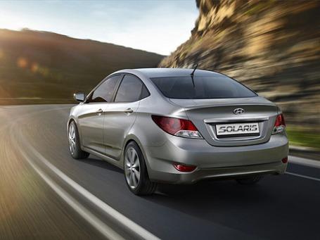 Hyundai Solaris в январе раскупалась лучше других.  Фото: hyundai.com
