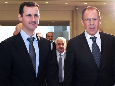 Визит Сергея Лаврова в Дамаск продемонстрировал: Москва пока противится международным требованиям об уходе президента Сирии. Фото: ИТАР-ТАСС