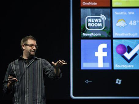 Аарон Вудман, директор по мобильным коммуникациям Microsoft.  Фото: AP