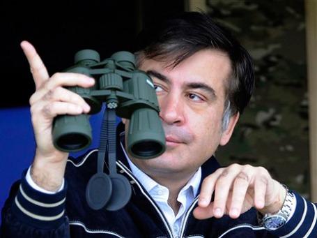 Михаил Саакашвили видит перспективы отмены визового режима с Россией. Фото: AP