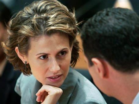 В европейских и американских глянцевых журналах Асму Асад именовали «розой пустыни». Фото: AP