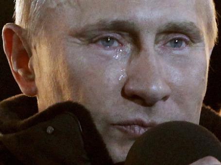 Кому отольется слеза Владимира Путина? Фото: AP