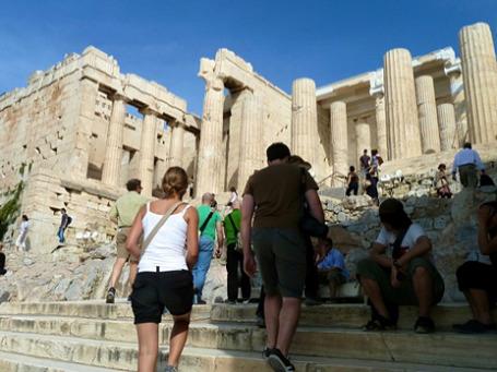 Греческие древности посещает все меньше иностранных туристов. Фото: http2007/flickr.com