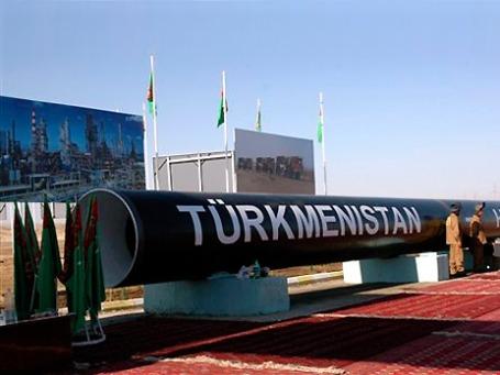 Туркмения занимает, в частности, четвертое место по разведанным запасам газа. Фото: AP