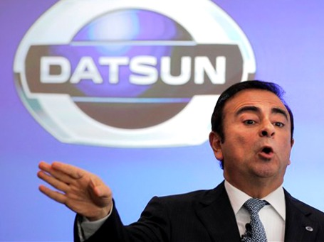 Генеральный директор Nissan Карлос Гон. Фото: АР