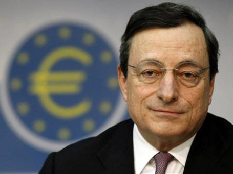 Глава Европейского Центробанка Марио Драги счиитает, что в еврозоне ситуация стабилизировалась. Фото: AP