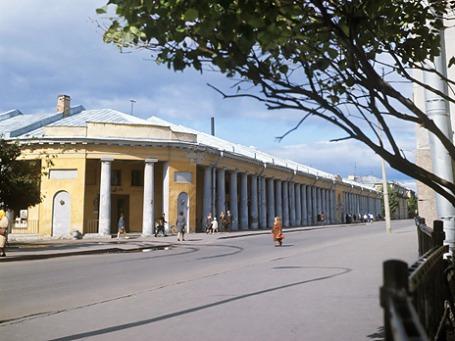 Гостиный двор в Кронштадте. 1974 год. Фото: РИА Новости