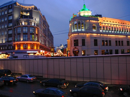 Владелец ресторана «Прага» построит напротив отель. Фото: ИТАР-ТАСС