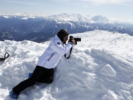 Дмитрий Медведев опробовал трассу на плато Лагонаки. Фото:  РИА Новости