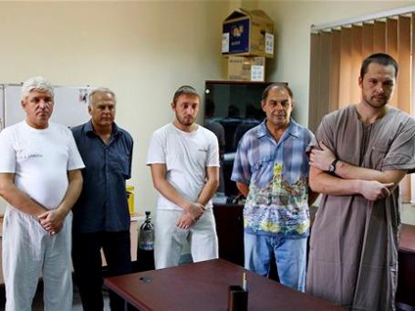 Нефтяники из СНГ, в том числе россияне, были задержаны в Ливии 8 месяцев назад. Фото: АР