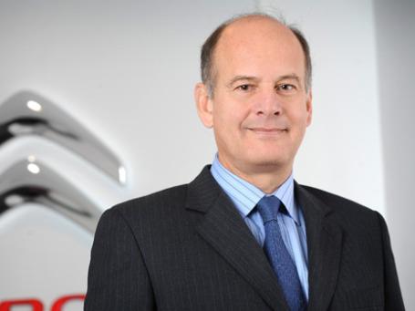 Глава российского офиса Citroen Жан-Луи Шамла. Фото предоставлено пресс-службой Citroen Россия