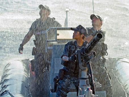 Кадр из фильма «Морской бой».